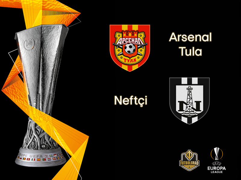 Arsenal Tula face Azeri side Neftchi Baku in the Europa League