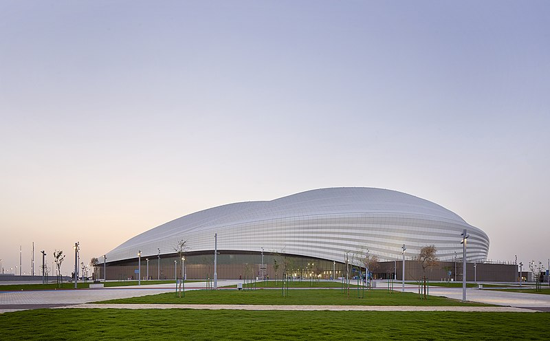 The Al Janoub Stadium in Qatar (Zaha Hadid Architects CC-BY-SA-4.0)