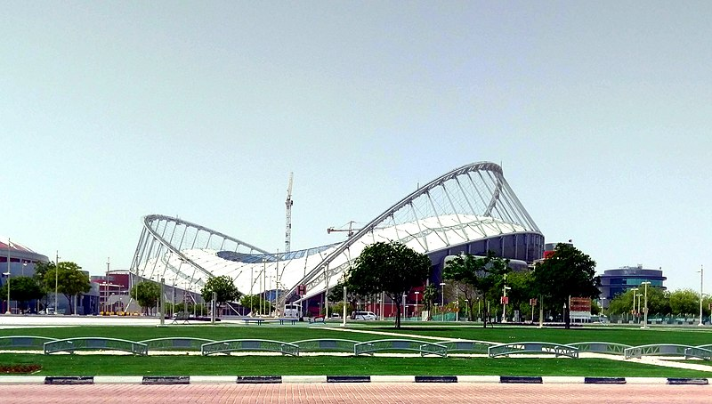 The Khalifa International Stadium in Qatar (CC-BY-SA-4.0)