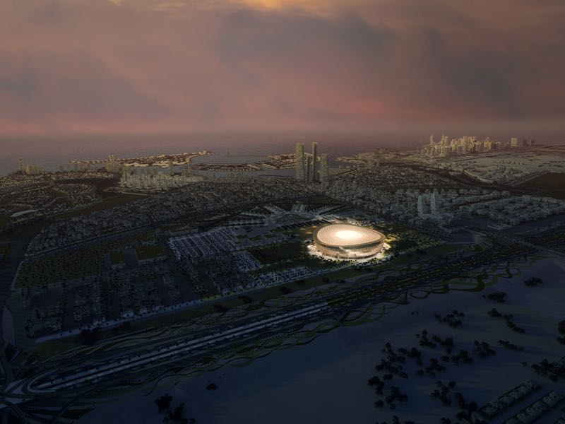 FIFA World Cup: tournament organisers unveil design for 85,000 seater Lusail Stadium, venue to host opening and final games in 2022 on December 15, 2018 (Photo by 2022 Supreme Committee for the Delivery & Legacy for the FIFA World Cup Event via Getty Images)