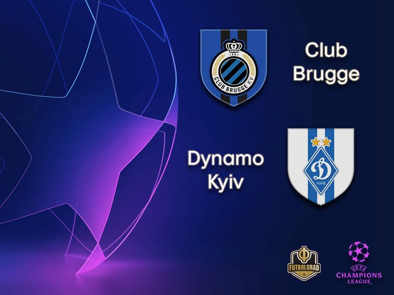 Brugge vs Dynamo Kyiv - Champions League - Preview - Futbolgrad