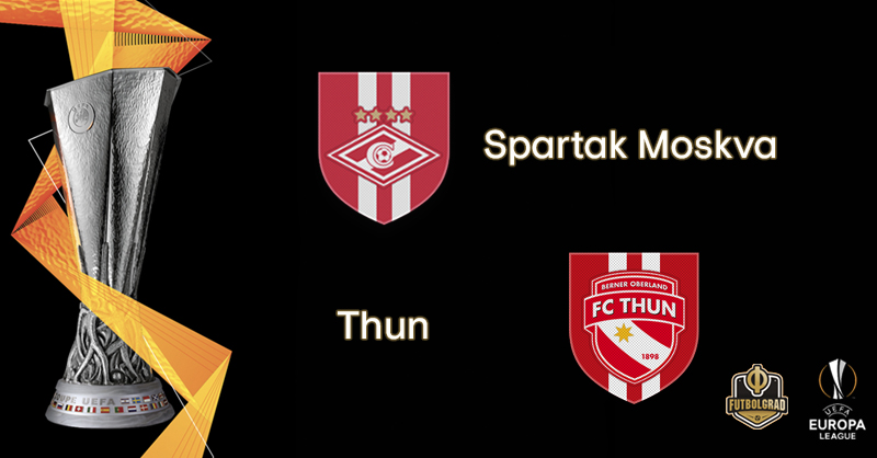 Spartak Moscow want to defend lead against FC Thun