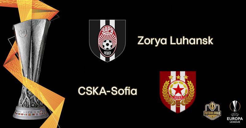 Zorya Luhansk want to see off CSKA Sofia