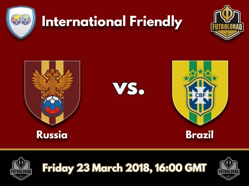 Image result for Russia vs Brazil football 2018 International Friendly Live